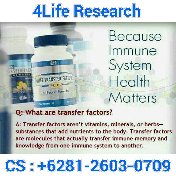 4Life Transfer Factor Plus for Balancing immune system