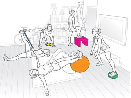 5 At-Home Workouts to Power Your Pedal Stroke