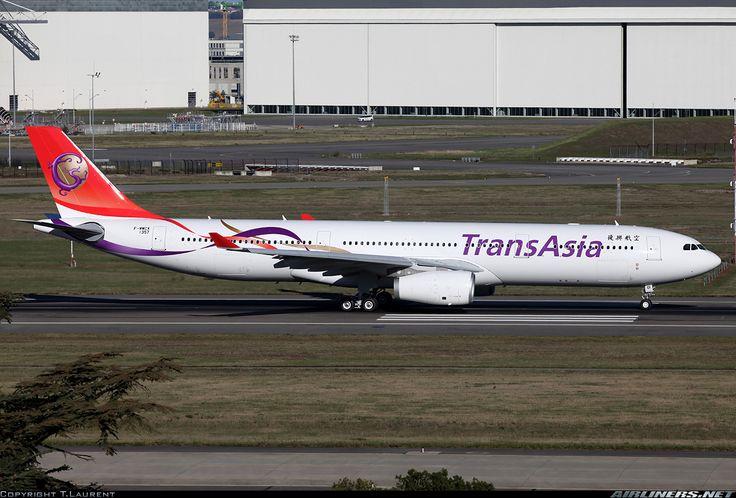TransAsia Airways F-WWCX / B-22101 Airbus A330-343E aircraft picture