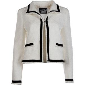 Best price on the market: Boutique Moschino Boutique Moschino Tweed Jacket