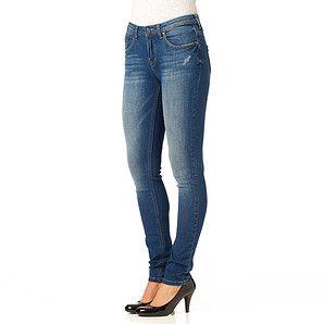 Ladies' Super Skinny Leg Jeans - Mid Wash – Target Australia