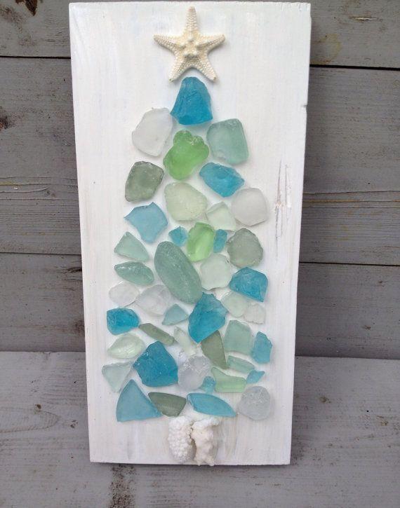 Seaglass Art/Coastal Living Holiday ~by My Honeypickles