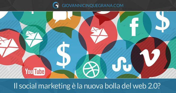 Il social media marketing è la nuova bolla del web 2.0? Le visite così come i risultati organici per molte aziende sono vicini alle zero e gli utenti/clienti sono sempre meno reattivi alle campagne social. Negli ultimi anni ci hanno convinto che la comunicazione attraverso i social media era il modo più efficace e veloce…