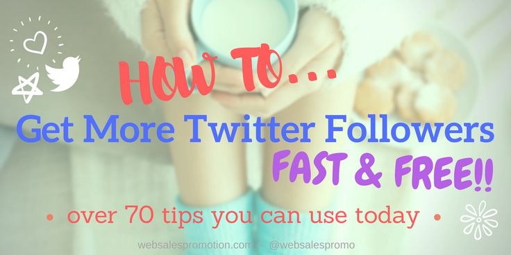 How to Use Twitter Guide - How to Get More Twitter Followers Fast & Free