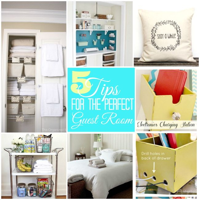 Five Tips to Creating the Perfect Guest Room