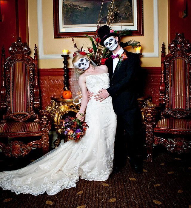 halloween wedding - Halloween Themed Wedding Reception