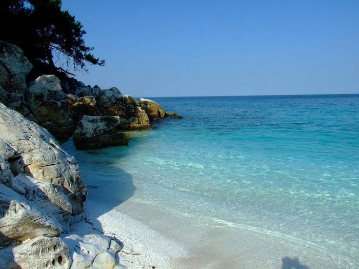 Saliara, the hidden marble beach - Thassos GREECE
