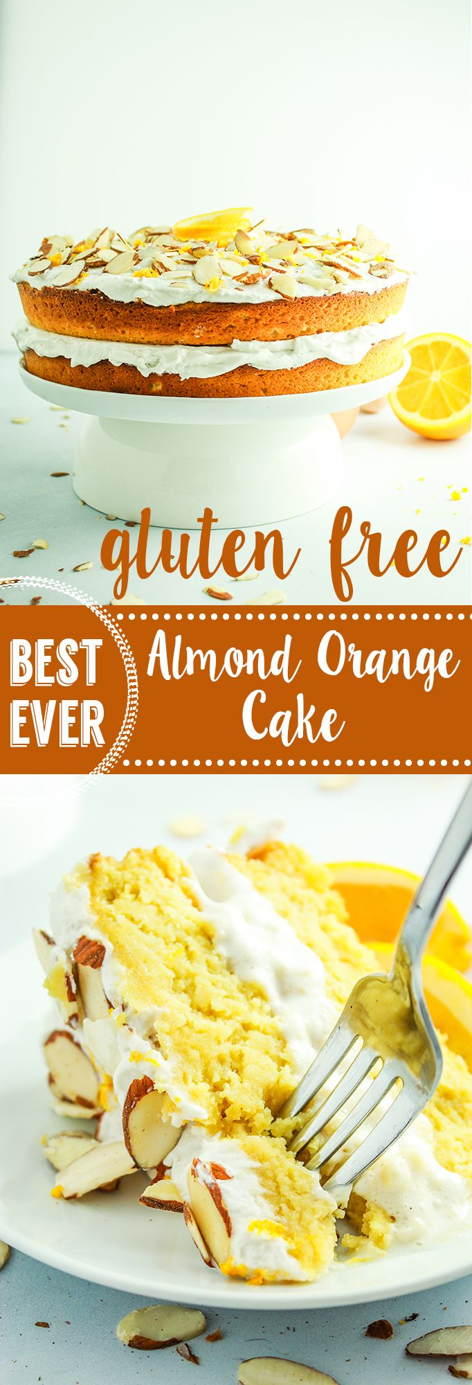 Gluten Free Almond Cake on Pinterest | Lactose free sweets, Gluten ...