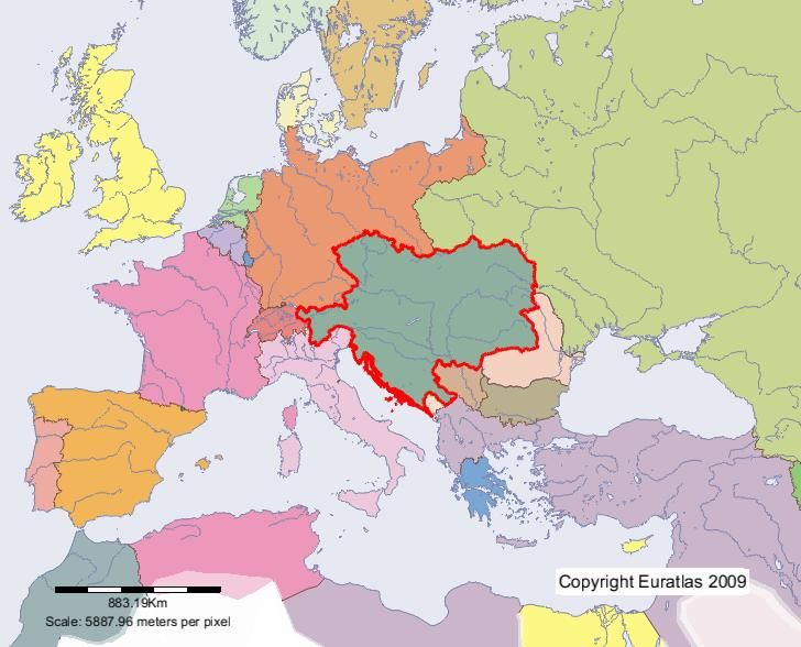 The Kingdoms and Lands Represented in the Imperial Council and the Lands of the Crown of St. Stephen (Austria-Hungary) , Dual Monarchy, k. u. k..