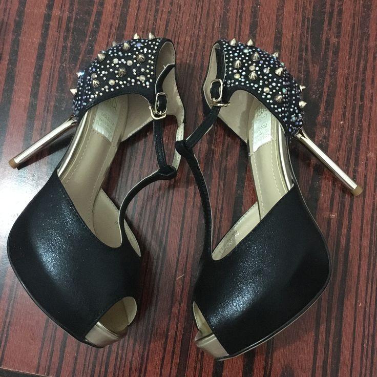 2016 sommer Nagelneuen frauen Sexy T pumps Peep Toe strass Elegante Abendkleid Schuhe High Heels auf verkauf //Price: $US $39.36 & FREE Shipping //     #abendkleider