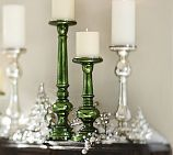 Bring some class with glass - mercury glass candle holders, that is.