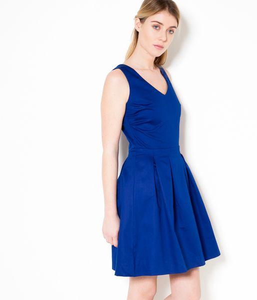 les 25 meilleures id es concernant robe bleu electrique sur pinterest robes d 39 t jaunes. Black Bedroom Furniture Sets. Home Design Ideas