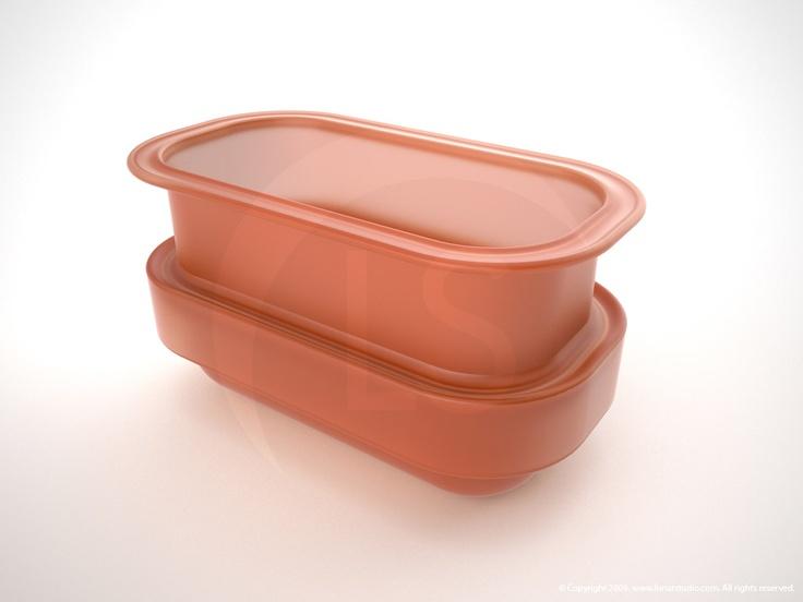 Organic Silicone Compost Bin. ::           Artist: Cleo.           Design & Product by: Fuccillo Design - www.fucillodesign.com.