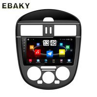 9inch Quad Core Android 4.4 Car Stereo Radio For Nissan Tiida (2011-2015) Car PC Audio Mirror Link With GPS Navigation Steering