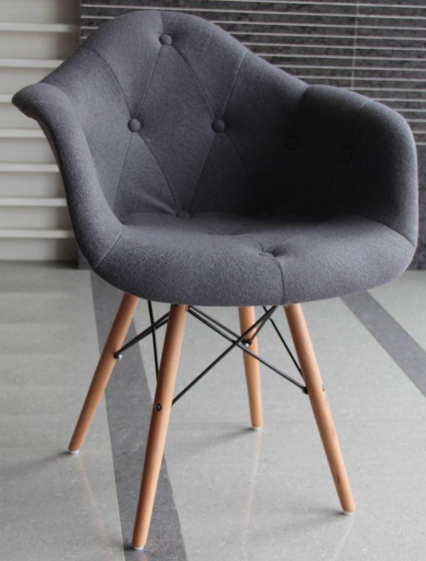 Кресло Пэрис Вуд Шерсть (Paris Wood Wool) фиолетовая, розовая, красная, оранжевая, бирюзовая, желтая, серая, коричневая, кремова Киев Цена, купить, заказать, Mebel Planet