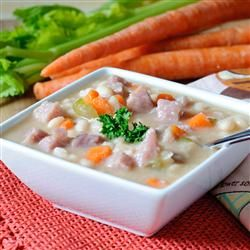 Navy Bean Soup with Ham, photo by KGora: Hams Steaks, Navy Bean Soup, Food Recipes, Navy Beans Soups, Hams Http Allrecipes Com, Hams Hock, Hams Allrecipes Com, Hams Recipes, Smoke Hams