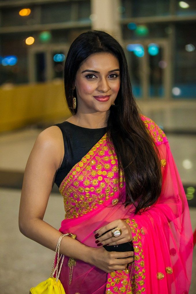 Actress Asin Thottumkal during South Indian International Movie Awards (SIIMA) 2013 event.