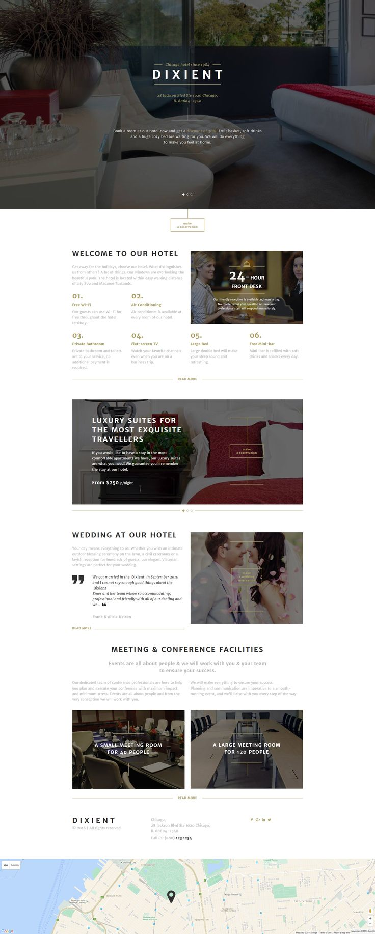Best 91 Hotel Website Templates images on Pinterest | Design ...
