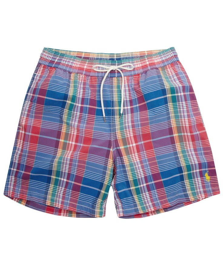 Multi Colour Plaid Swim Shorts, Polo Ralph Lauren Accessories. Shop the latest Polo Ralph