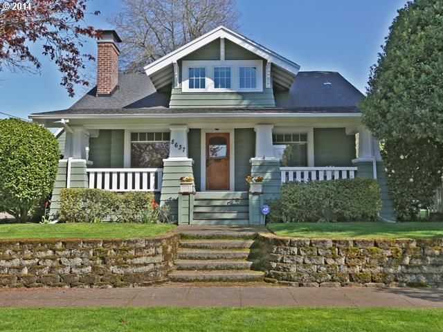 Craftsman cute style rmls 14141319 in portland or Craftsman lake house