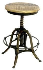 Metalen stoel met armleuning blauwgrijs Deze industriële stoel is geïnspireerd op de oude originele versie van Tolix. Door zijn tijdloze en stoere uitstraling past hij in elk interieur. Leuk aan de eettafel of bureau. De stoelen zijn bovendien stapelbaar.