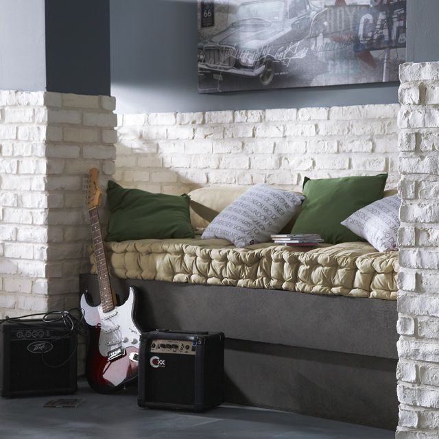 plaquette de parement manhattan castorama loft pinterest manhattan. Black Bedroom Furniture Sets. Home Design Ideas