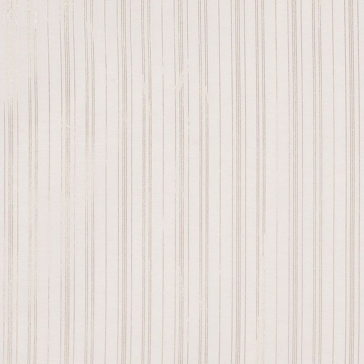 Marc Jacobs Cream and Metallic Gold Striped Silk-Cotton Fabric by the Yard | Mood Fabrics