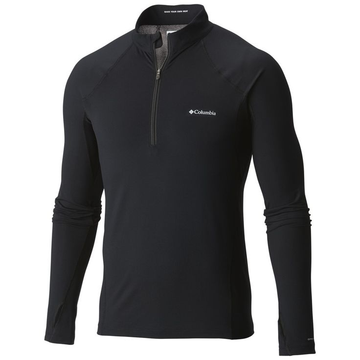 Midweight Stretch Long Sleeve Half Zip - Baselayer - Topuri - Bărbați - Dockyard