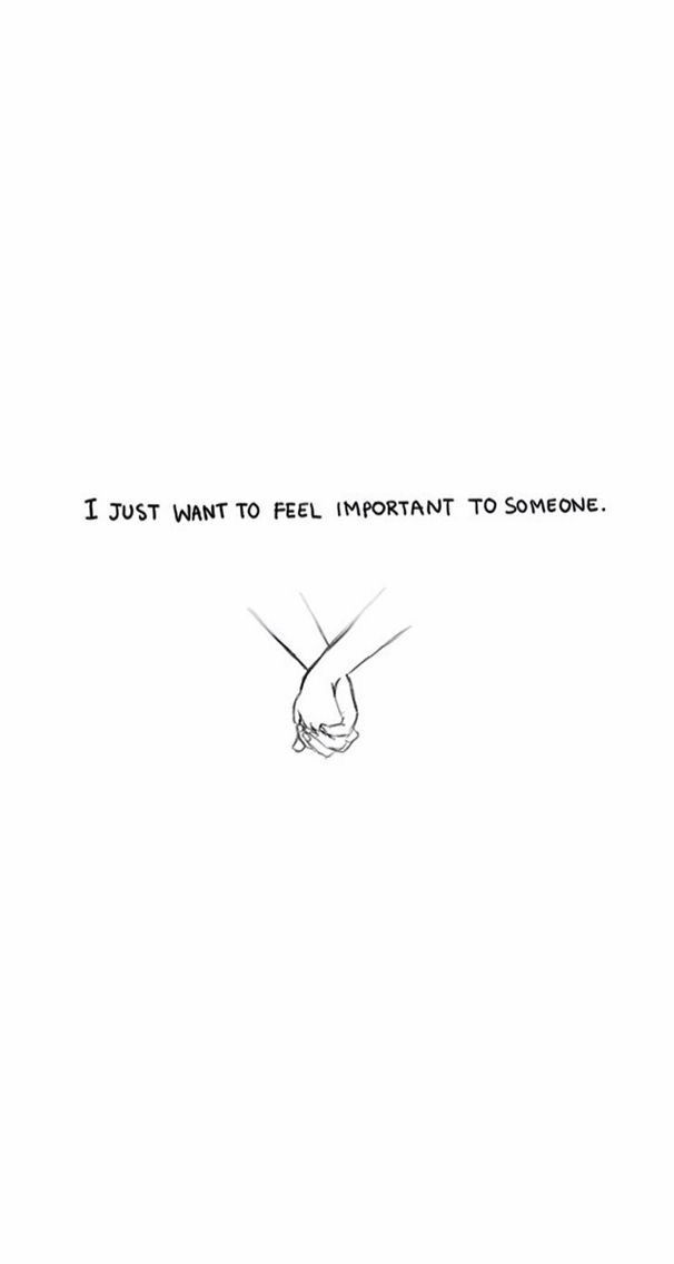 i just want to feel important to someone. ฉันแค่อยากรู… – Aaron