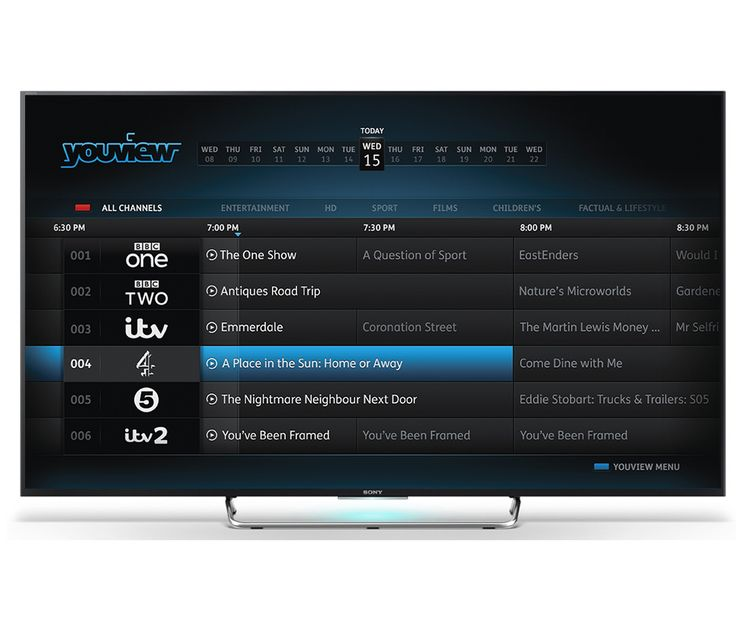 SONY BRAVIA KDL50W805C 50 inch 3D Smart LED Android TV 1080p HD Youview