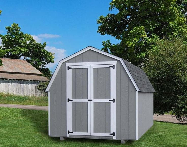 28 best amish sheds images on pinterest amish sheds for Gambrel garage kit