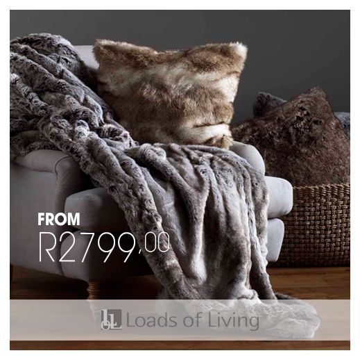 Softer than soft and oh-so-chic, spend a tranquil moment, indulgently wrapped in our luxurious Faux Fur Throw.…