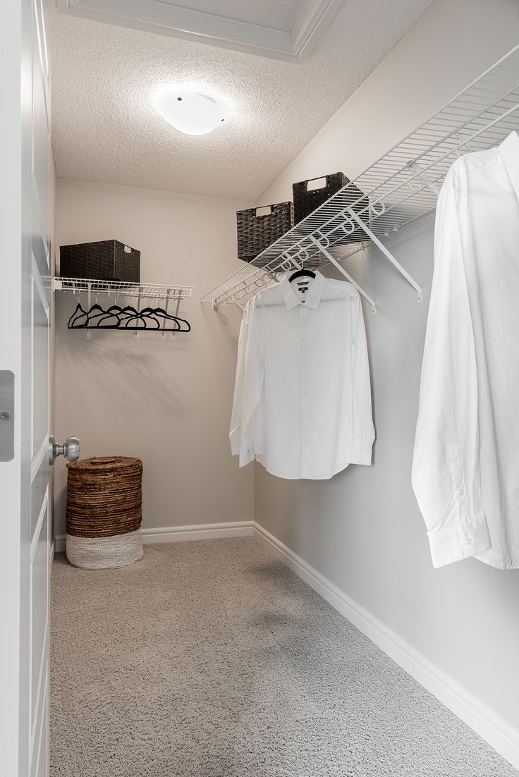 The walk-in closet of her dreams!