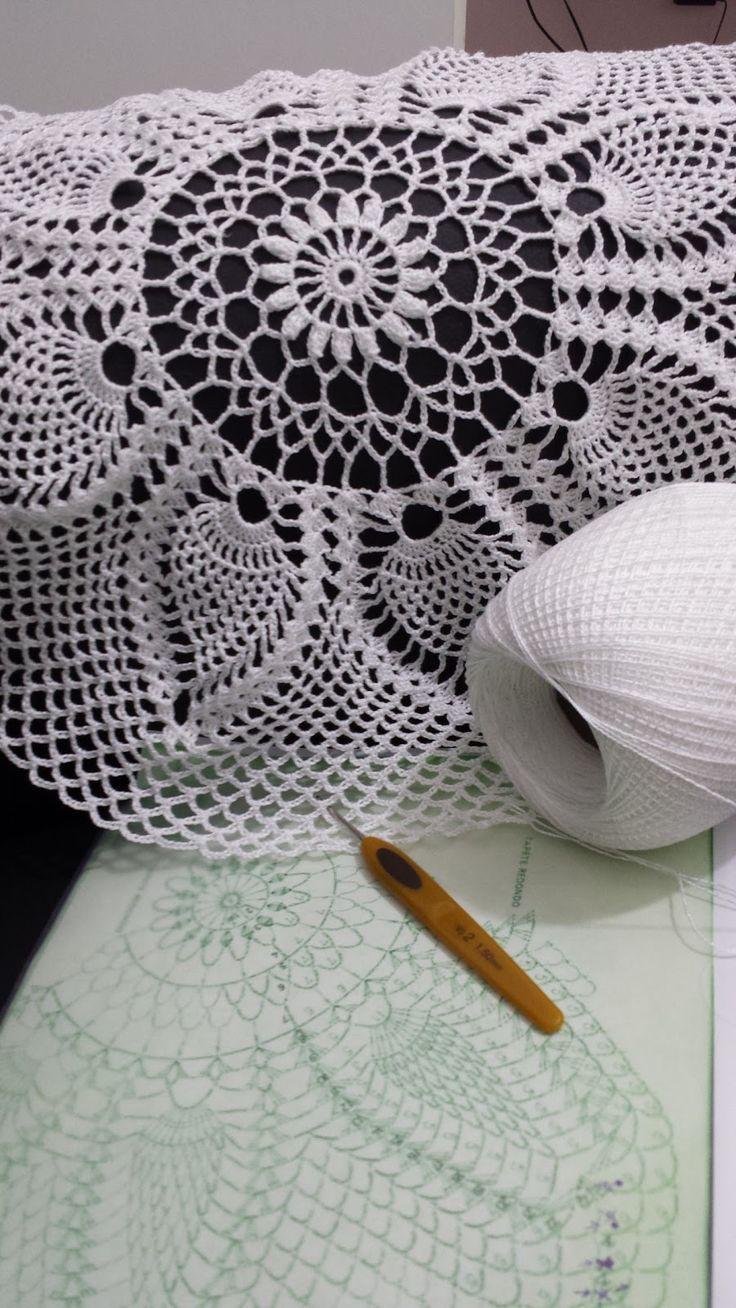 Mais um grande desafio !   Quem é crocheteira sabe, quantas horas passamos à fio para confeccionar uma peça como está . Espero estar fi...