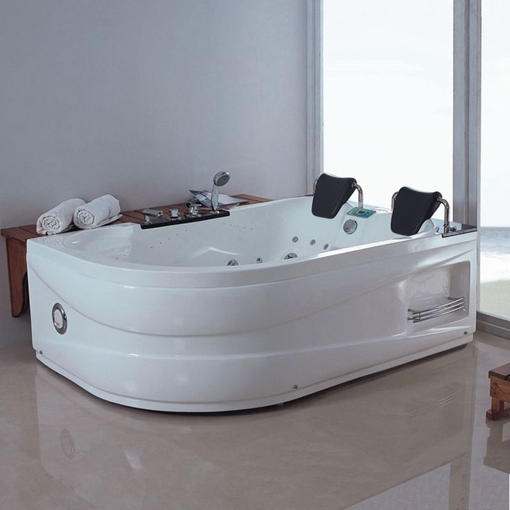 baignoire baln o asym trique g quilotoa whirlpool 46 jets. Black Bedroom Furniture Sets. Home Design Ideas