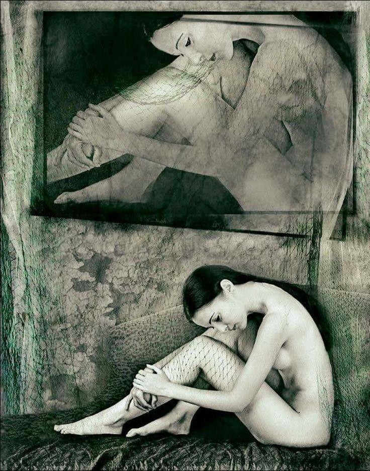 Anke Merzbach. Surrealist photographer.