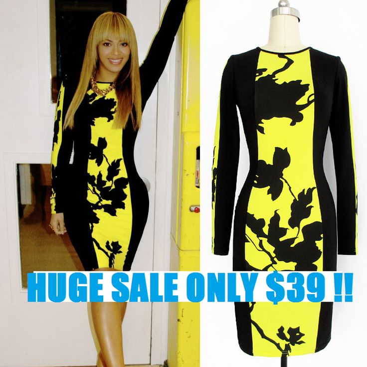 Buy beyonce yellow dress