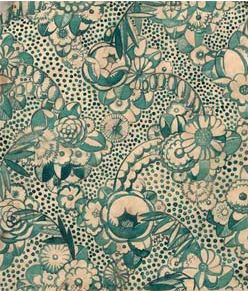 Textiles designed by André Mare (1885-1932)  Sue & Mare,  Watercolor. André Mare was one of the founders of the Art-Deco style.