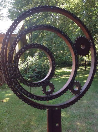 The Art Of Up-Cycling: Scrap Metal