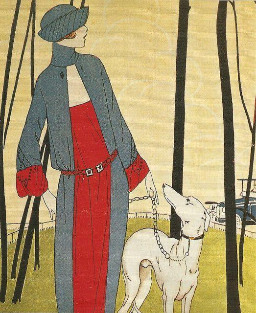 1921 - Walking the Dog