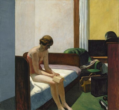 """Chambre d'hôtel"", 1931, by Edward Hopper"