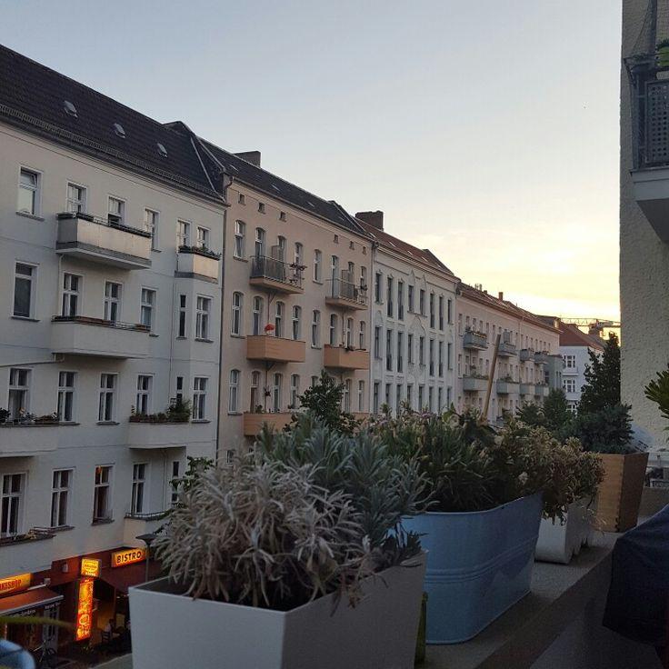 Balcony View, Corinth Street Berlin, Friedrichshain