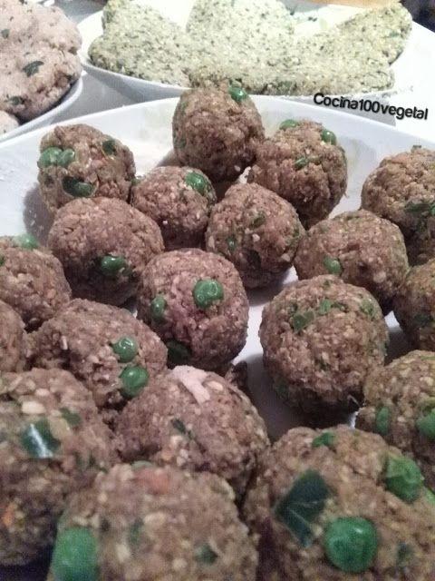 Cocina100%Vegetal: Recetas de carne vegetal hecha con avena y soja te...