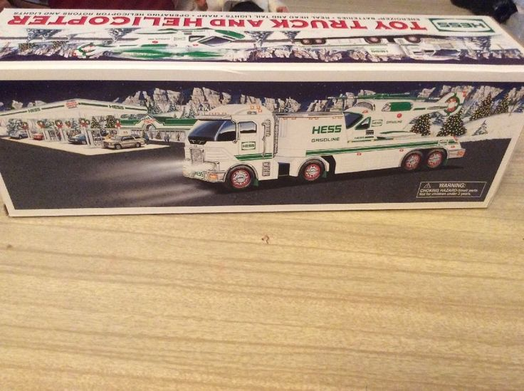 2006 New Hess Toy Truck & Helicopter  #Hess