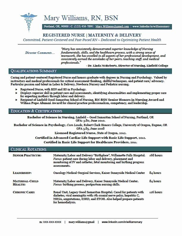 Nursing Clinical Experience Resume New Clinical Experience On
