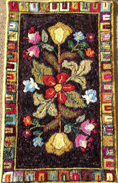 1254 Nice And Easy Needlecrafts Rug Hooking Patterns