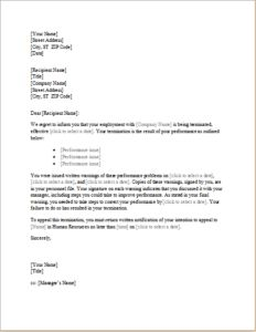 trainee employee termination letter DOWNLOAD at http://www.templateinn.com/4-termination-letter-templates-for-all-services/