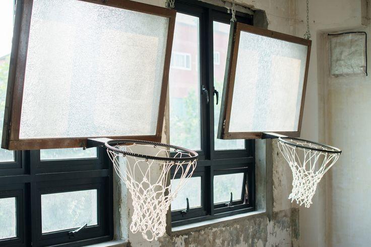 upcycled old window installation www.umalong.com