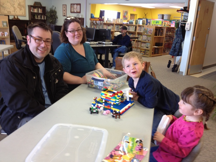 Families love Lego at our Block Party