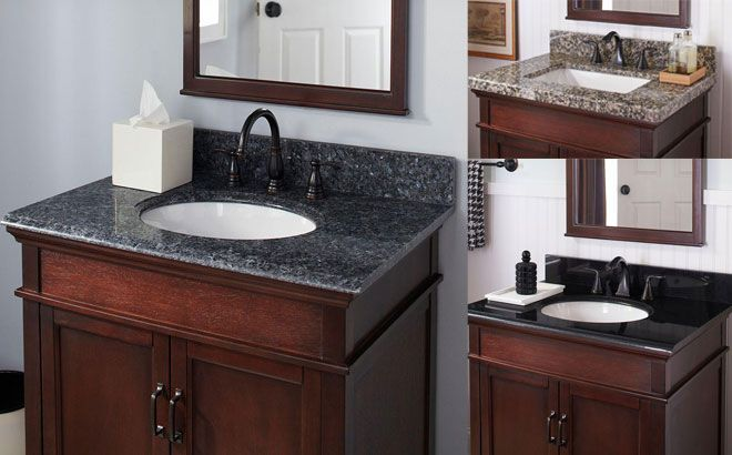 Pegasus Bathroom Vanity Tops Starting At Only 92 Free Shipping Regularly 460 In 2021 Bathroom Vanity Tops Vanity Top Bathroom Vanity